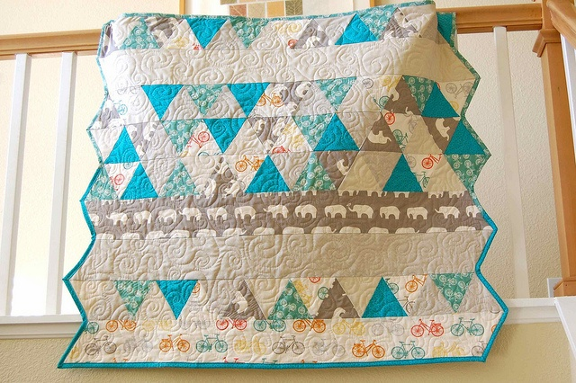 bicycle fabric Quilts, Blanket, Fabric