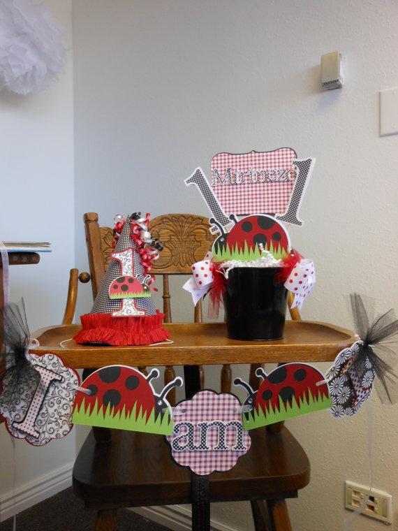 Lady Bug 1st Birthday Sweet Celebrations by ASweetCelebration