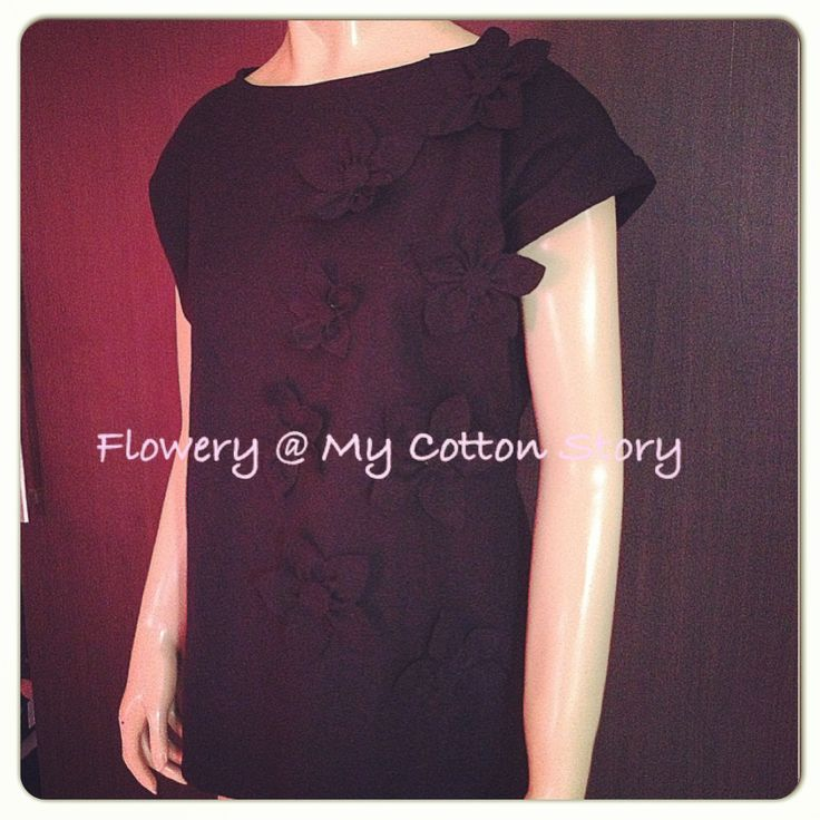 Flowery S-XL, original design by My Cotton Story
