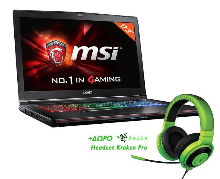 MSI Apache Pro GE72 6QF-005NL - ElectroStudio