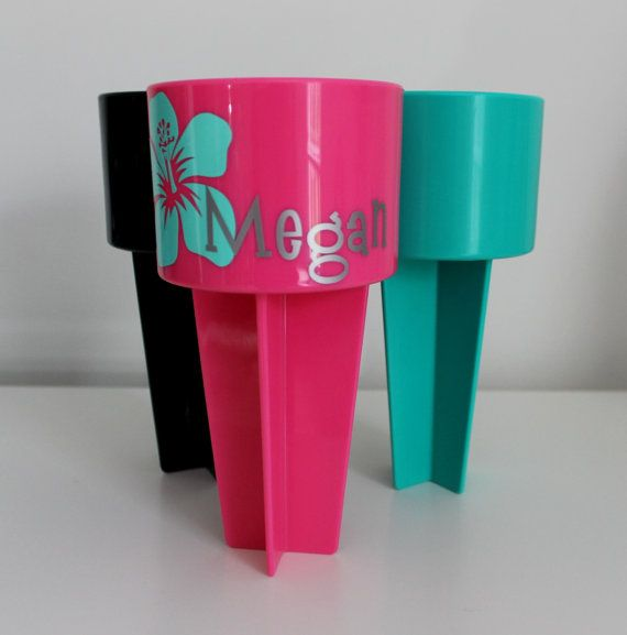 Hey, I found this really awesome Etsy listing at https://www.etsy.com/listing/237700975/beach-drink-holder-beach-spiker