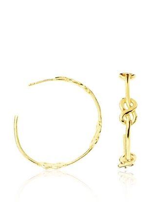80% OFF gorjana Infinity Knot Hoops
