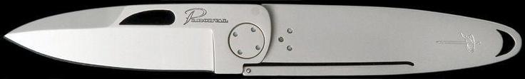 Perceval T45 frame lock, beautifully simple