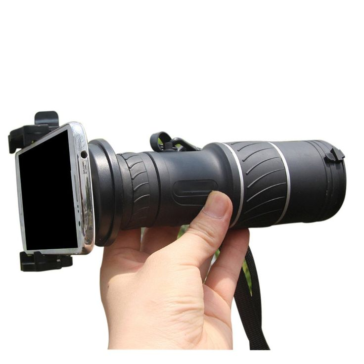Generic 40x60(18x52) Cell Phone Telescope Phone Camera Lens Monocular with Iphone 5/5s Clip. This creative phone telescope makes your phone just like a professional SLR camera.Fully compatible with iPhone, Samsung, HTC, Lenovo, LG and Huawei, etc. 18x52(40x60) Zoom Lens with universal and adjustable holder ensure the compatibility with different phones. 18x52(40x60) lens magnification and 52mm objective lens bring a ultimate photography experience to you. New creative design to run rays...