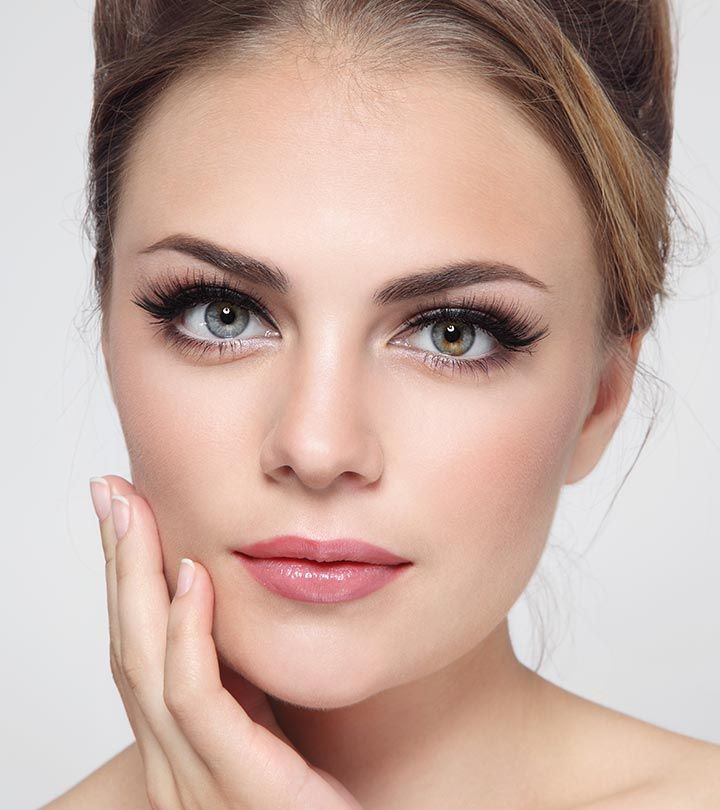 2 Perfect Eyebrow Shape Ideas For Oval Face Shapes