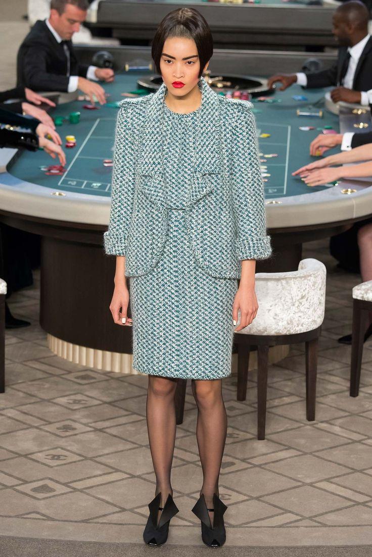 Chanel Fall 2015 Couture Fashion Show - Marga Esquivel
