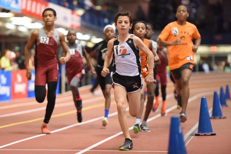 Trials of Miles For the Millrose Games Trials On Wednesday Night