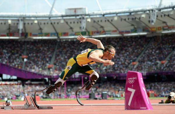 Oscar Pistorius, Olympic Hero!