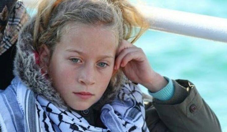 Filistin Çerkesi:Ahed Tamimi