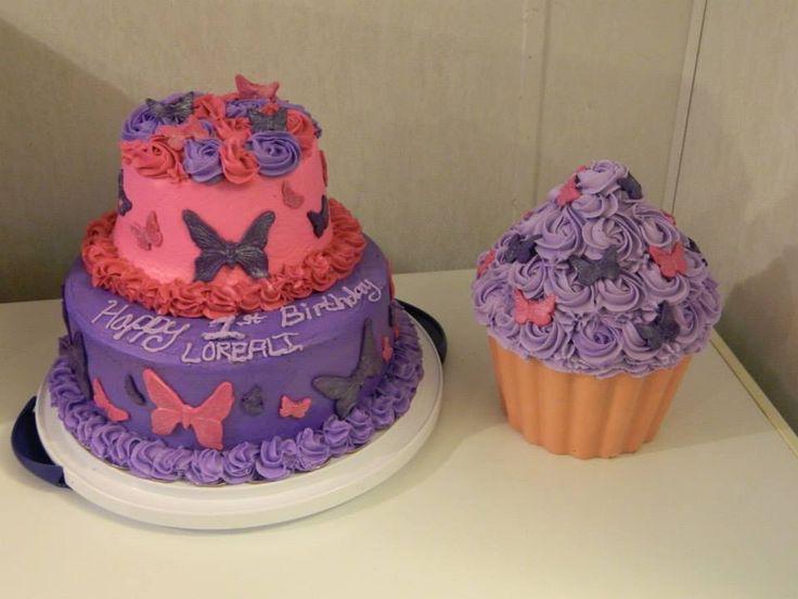 Garden Themed Cake Smash