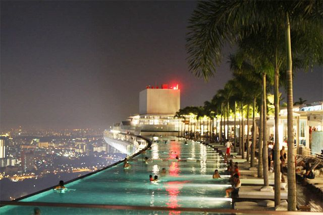 93 best images about cool roof pools on pinterest pools - Rooftop swimming pool in singapore ...