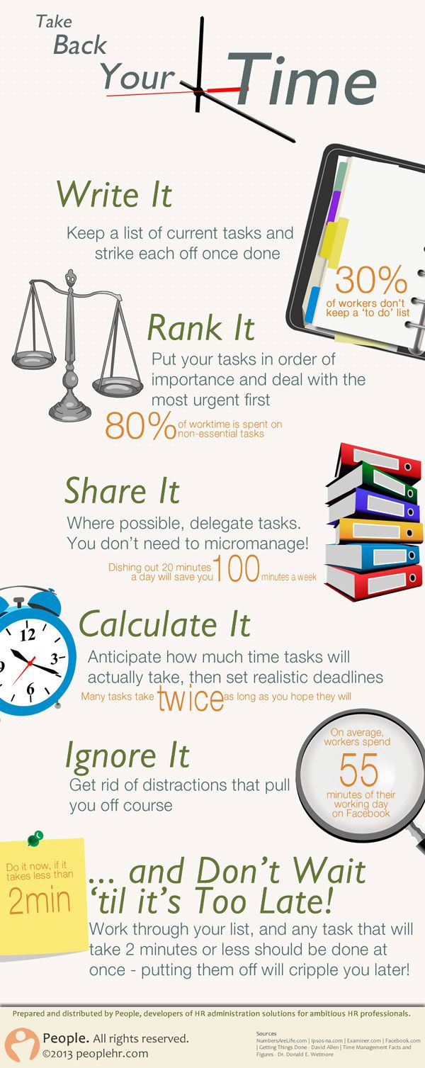 6 Time Saving Tips to Avoid Being Overworked [Infographic]