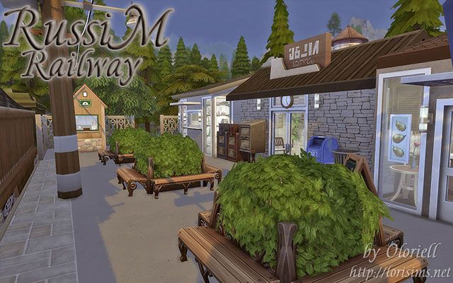 RussiM Railway for TS4 by Oloriell