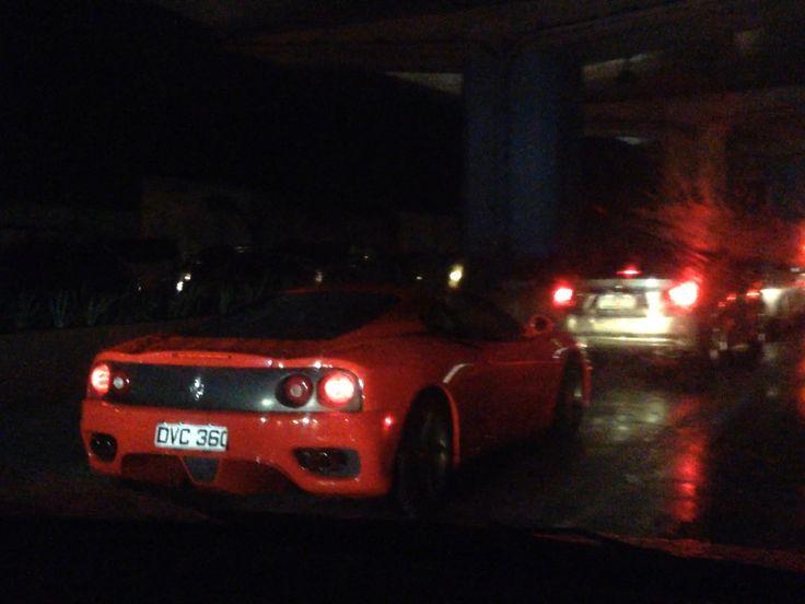 Prancing in the Rain: Ferrari 360 Modena (EDSA Buendia)