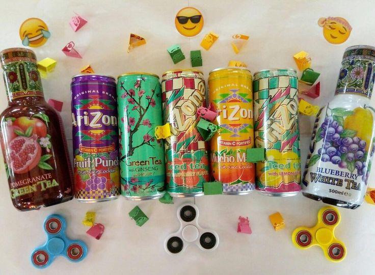 Доброе утро!  Сеголня последний день БЕСПРОИГРЫШНОЙ ЛОТЕРЕИ!!! при покупке от 500 вытягиваешь из баночки листочек со своим выигрышем   можно выиграть много крутых призов! Шоколадки вафли флафф арахисовая паста газировки коробки конфет Milka коктейль со вкусом шоколадок палочки Принглс и многое другое! На фото: Arizona в бутылке 199 Arizona в банке 149 Спиннеер! 299 Значки эмоджи 69 #wanttasty #аризона #спинер #спиннер #магазинкрутыхштук