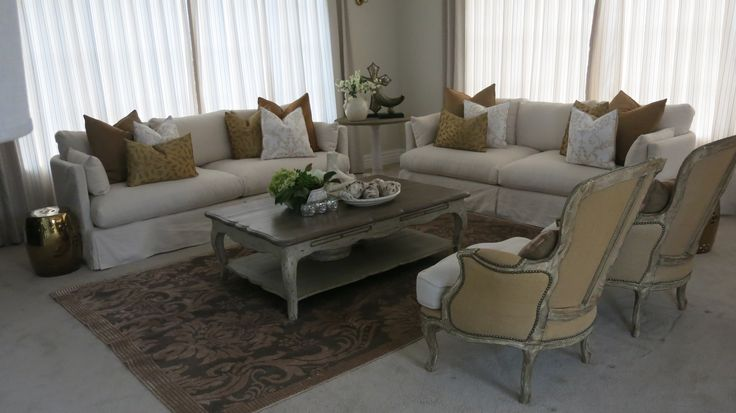 Formal lounge staged by DMI Homestagers.