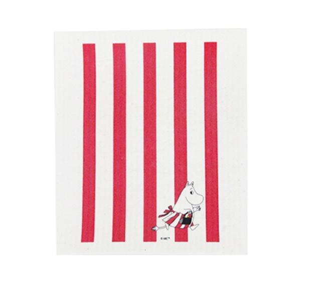 Moomin Striped Dish Cloth