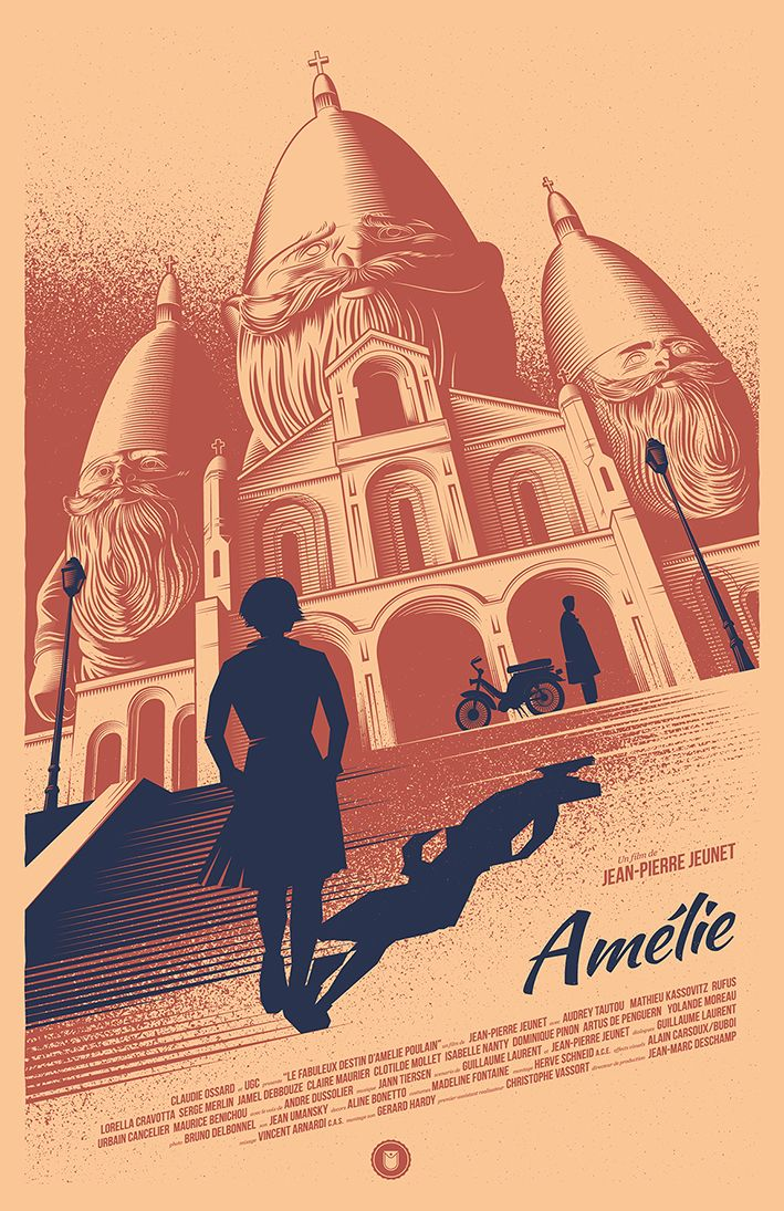 Amélie - movie poster - Thomas Walker