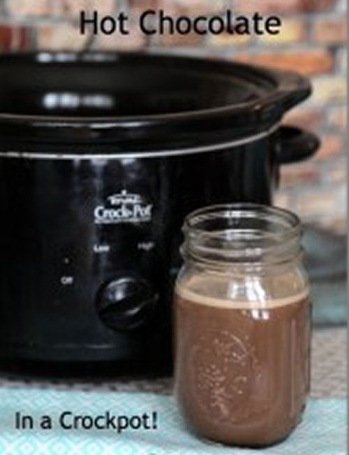 Best 25+ Crockpot hot chocolate ideas on Pinterest | Hot cocoa bar ...