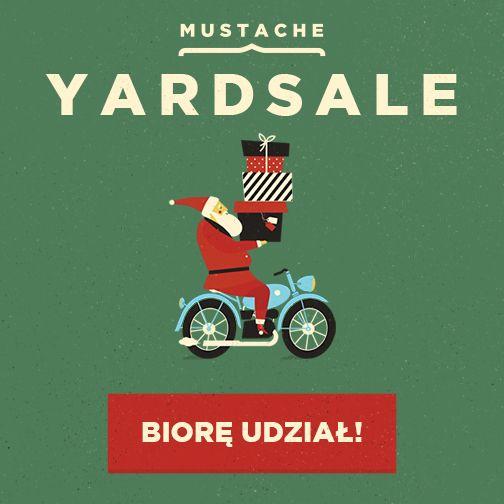 Zapraszamy wszystkich na stoisko Nervous Strong Company na Mustache Warsaw w sobotę w południe do Pałacu Kultury i Nauki piętro 1 stoisko 340. Do nabycia lub obczajenia same świeżynki wyprodukowane specjalnie na tą okazję. #mustache #yardsale
