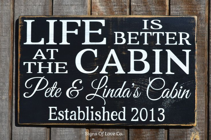 Best 25 personalized wooden signs ideas on pinterest for Cabin signs wood