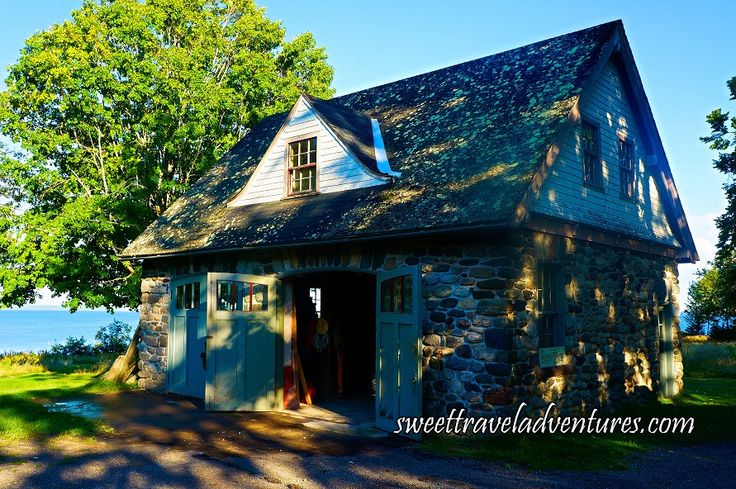 Van Horne Estate's Carriage House on Ministers Island Near St. Andrews by-the-Sea, New Brunswick, Canada