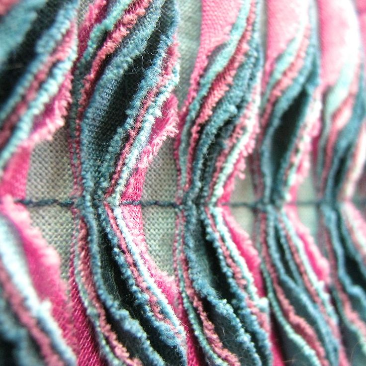 multiple layers fabric manipulation | Fabrication | Pinterest