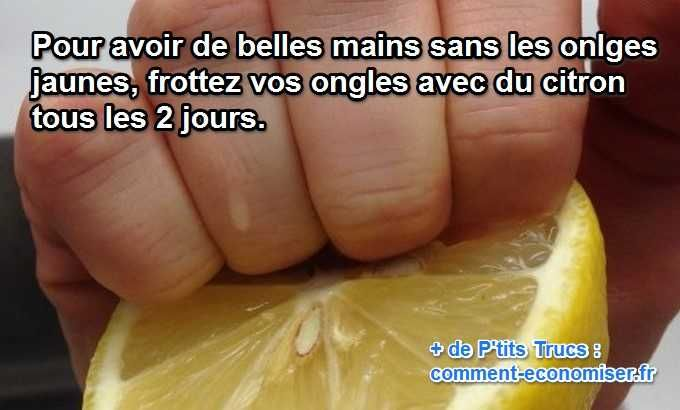 remede-naturel-pour-avoir ongles-blancs-citron