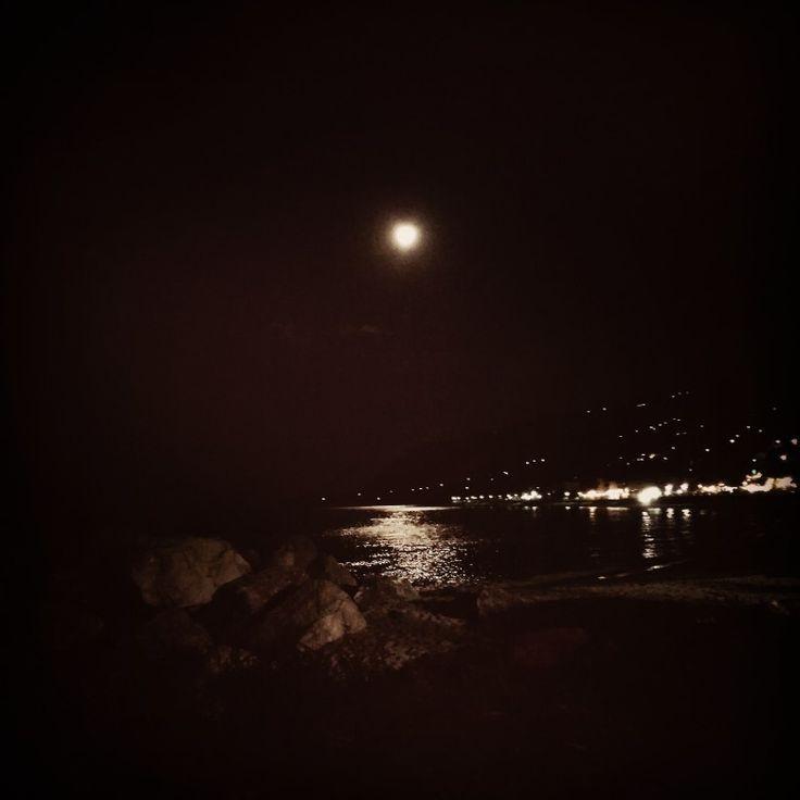 Full moon at Agios Ioannis, East Pelion !