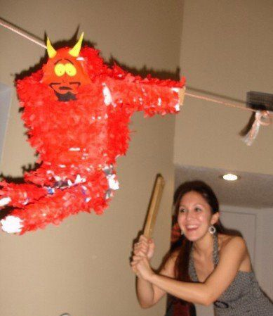 Picture of Satan from South  Park Pinata.. i mean PiÑata easy