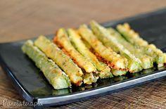 PANELATERAPIA - Blog de Culinária, Gastronomia e Receitas: Palitos de Abobrinha com Parmesão