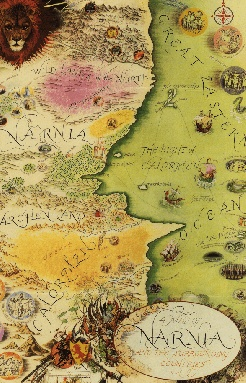 Map of Narnia