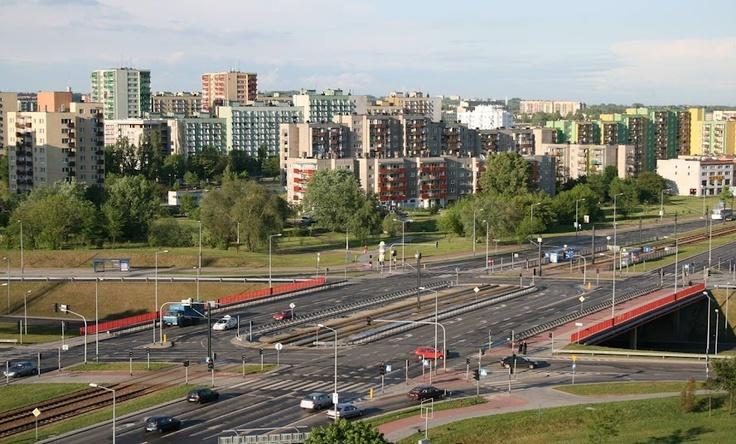 General view on Czyżyny district #Kraków #NowaHuta #Krk