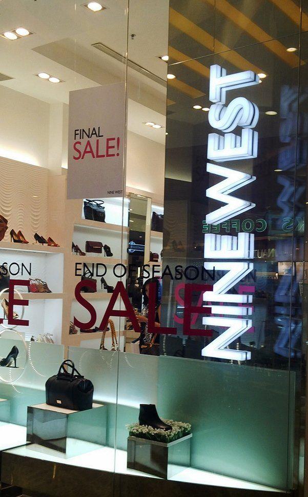 Nine West sale up to 40%!