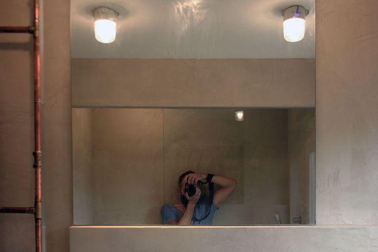 Badkamer Spiegelkast Hoek ~ Meer dan 1000 idee?n over Koperen Badkamer op Pinterest  Koperen