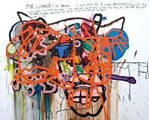 Melgaard, Bjarne - Untitled (Mr. Flower a Novel in Five Parts by Bjarne Melgaard) 2009 / VINTERENS MODERNE 2012 / Kunsthandel - Blomqvist Kunsthandel
