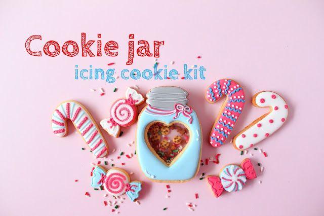 Cookie Jar icing cookie kit