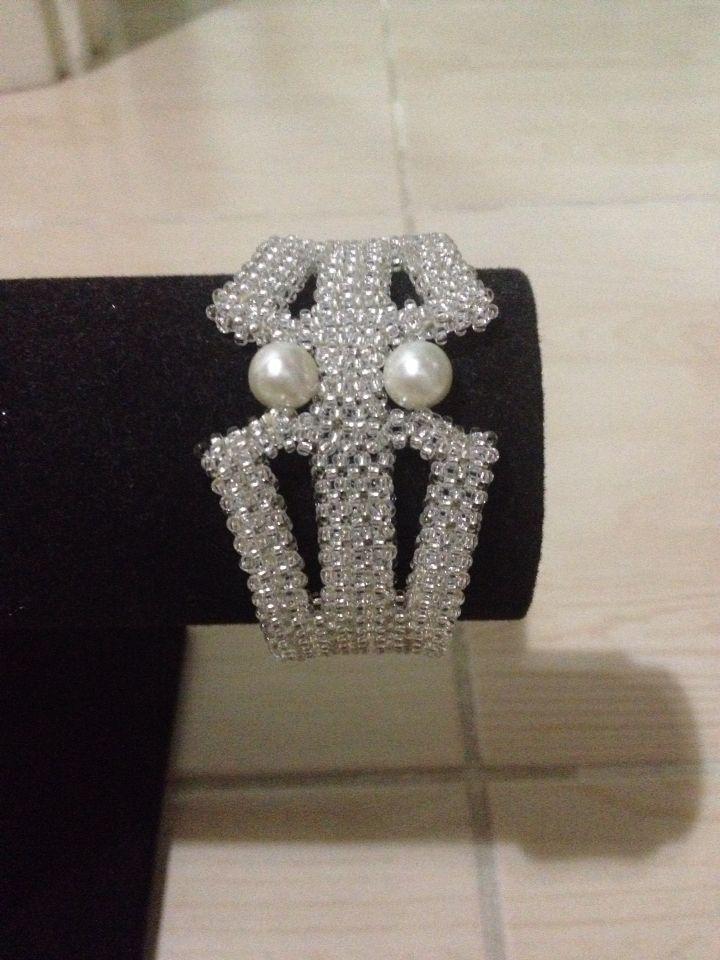 Cuff Bracelet-Sead Bead Necklace by SHYL