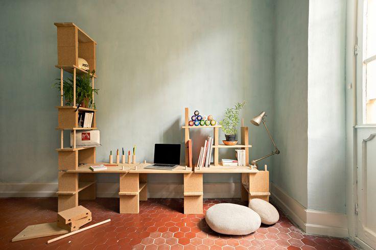 1000 id es sur le th me espaces de petit bureau sur for Idee bureau petit espace