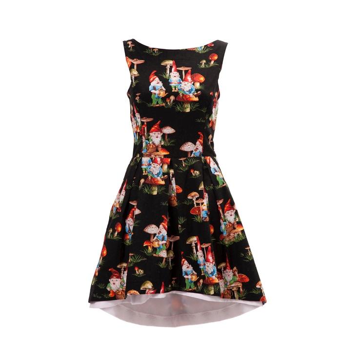 Gnome Dress 1950's Style. £150.00, via Etsy.