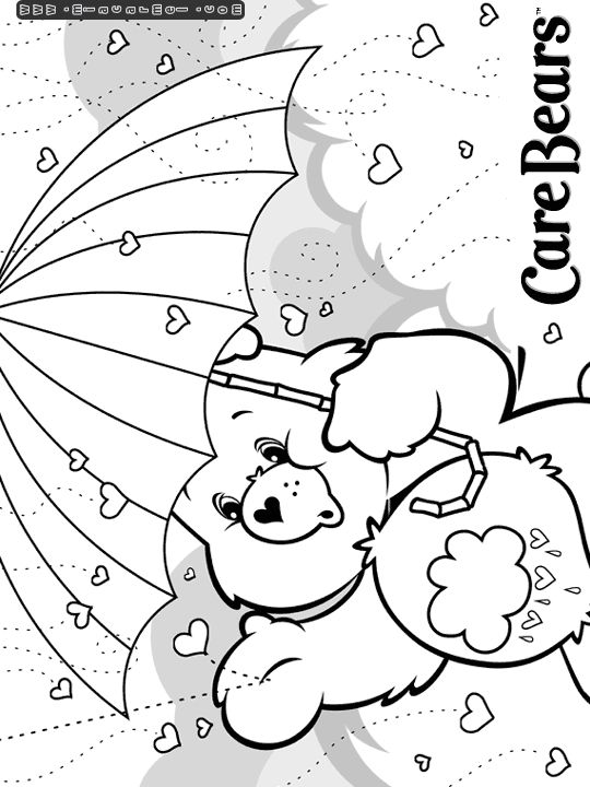 care bears coloring pages care bears coloring pages grumpy bear