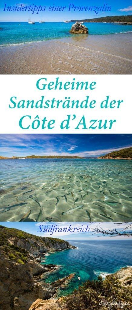 Geheime Sandstrände auf der französischen Riviera: findet sie mit den Insidertipps einer Provenzalin! Die besten Strände der Côte d'Azur auf dem Reiseblog einer Französin