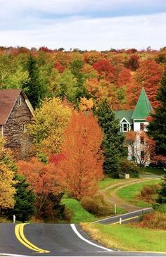 New England Fall...I would love to go in the fall!