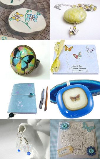 Beautiful Butterflies by Carolyn Ford on Etsy--Pinned with TreasuryPin.com