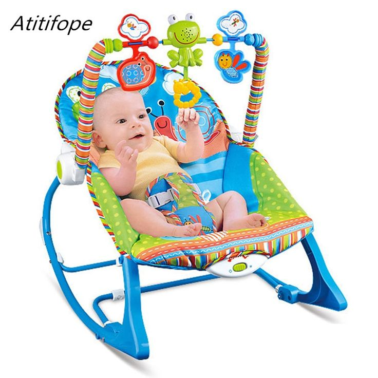 <b>Baby rocking chair</b> multi-function <b>baby</b> bed with music and swings ...