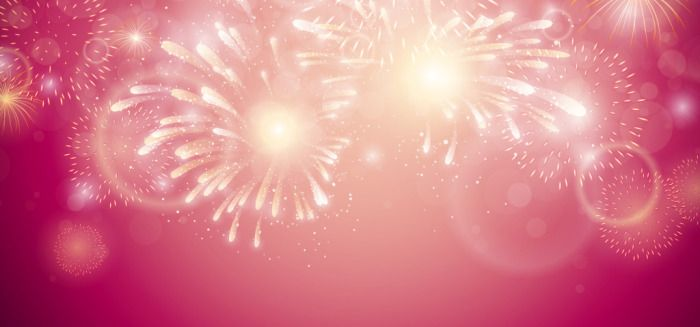 The Flowery Holiday Fireworks Vector Background Red Gradients The Gorgeous Gradients The Dream Festival Fireworks Background Vector Background Fireworks
