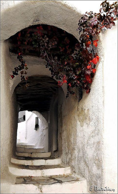 Apeiranthos, Naxos island, Cyclades, Greece