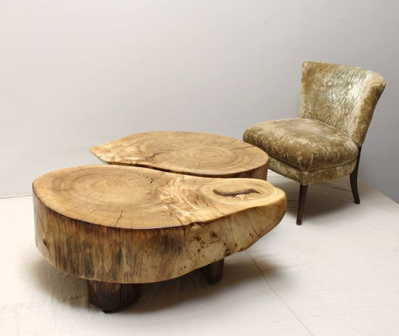 Oak Root Coffee Table: Etsy, Woods And Yin Yang