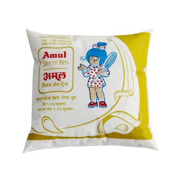 #AMUL #DOUBLE #TONNED #MILK #500ML Amul Double Tonned Milk 500ml.  Daily at your doorstep.