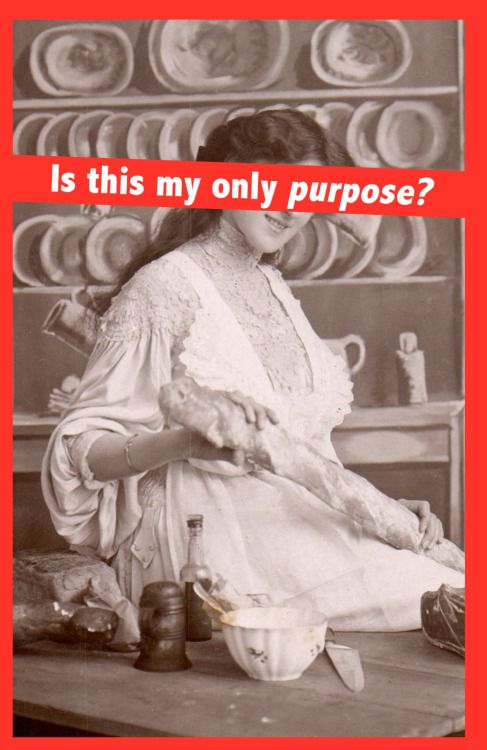 Is This My Only Purpose? // Barbara Kruger artist response